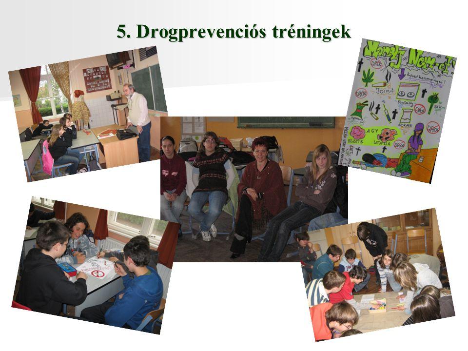 5. Drogprevenciós tréningek