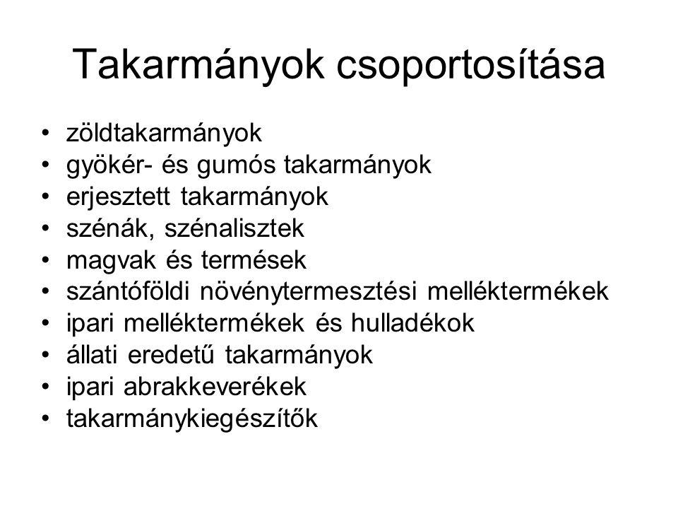 Pillangós virágú zöldtakarmányok III.