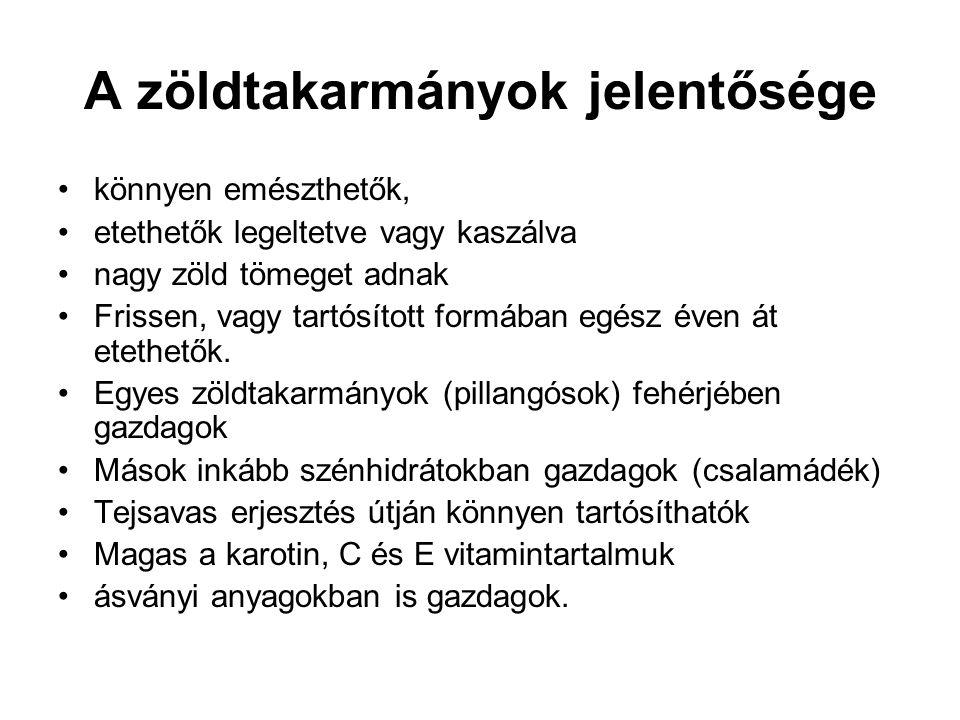 Szilázs - szenázs Szilázs: erjesztés során keletkezett tejsavval tartósított, egy menetben betakarított takarmány.