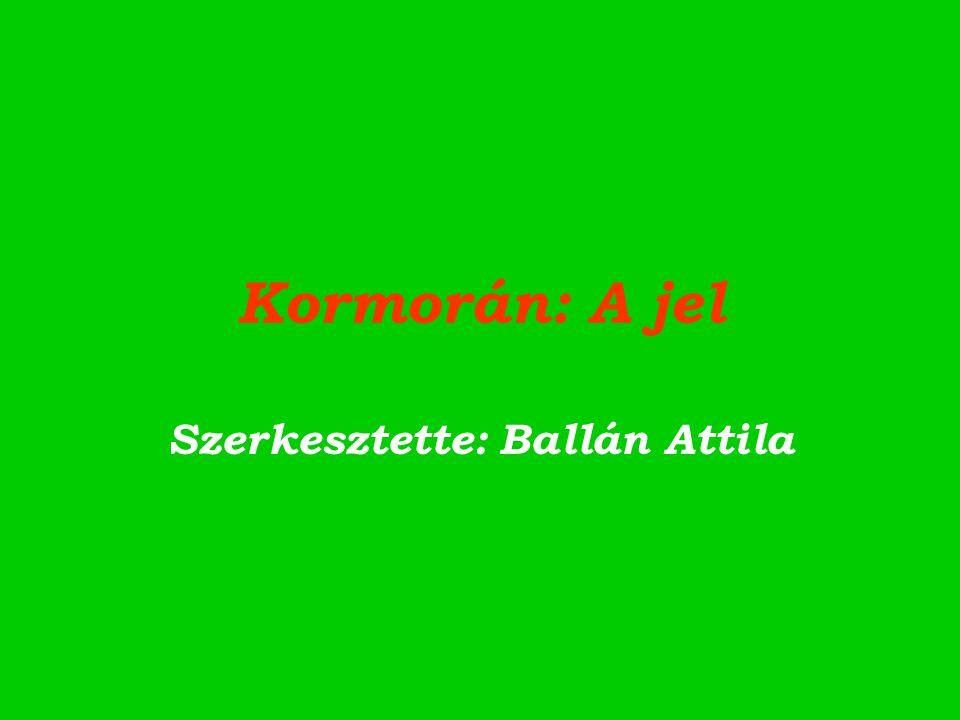 Kormorán: A jel Szerkesztette: Ballán Attila