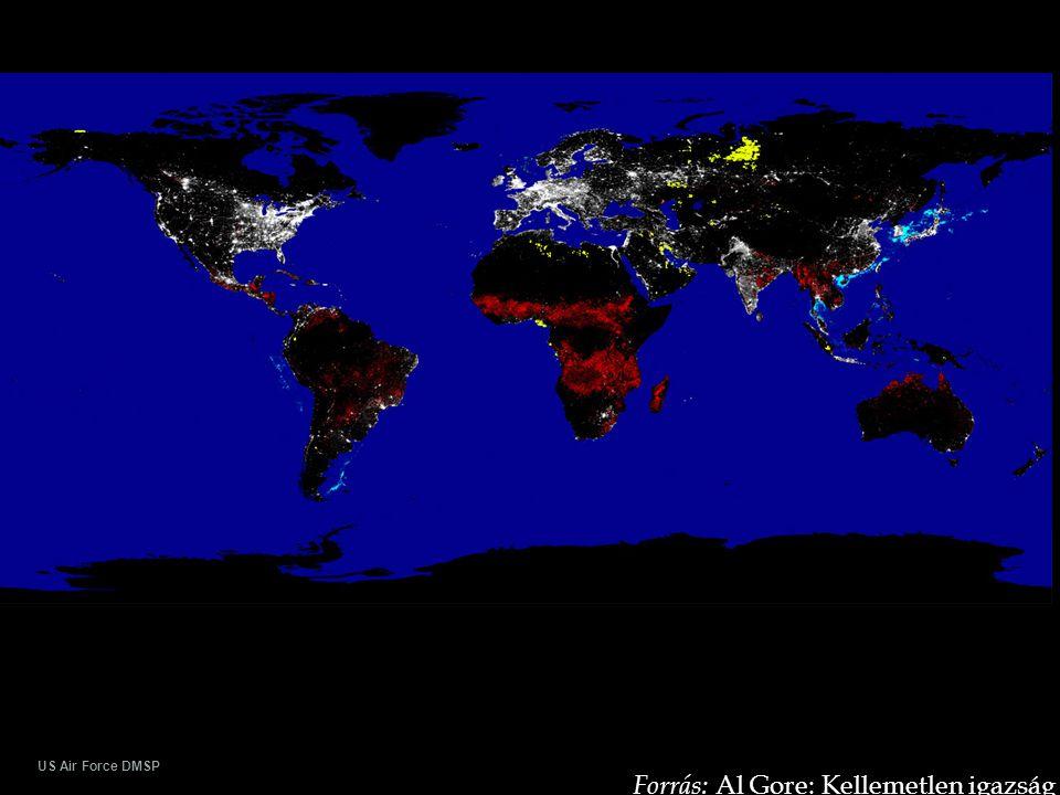 US Air Force DMSP Forrás: Al Gore: Kellemetlen igazság