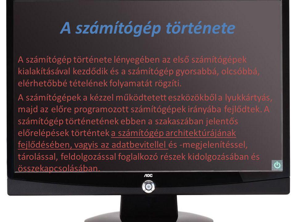 Tabletek története A táblagép vagy tablet PC hordozható számítógép, amelyet leginkább tartalomfogyasztásra fejlesztettek ki.