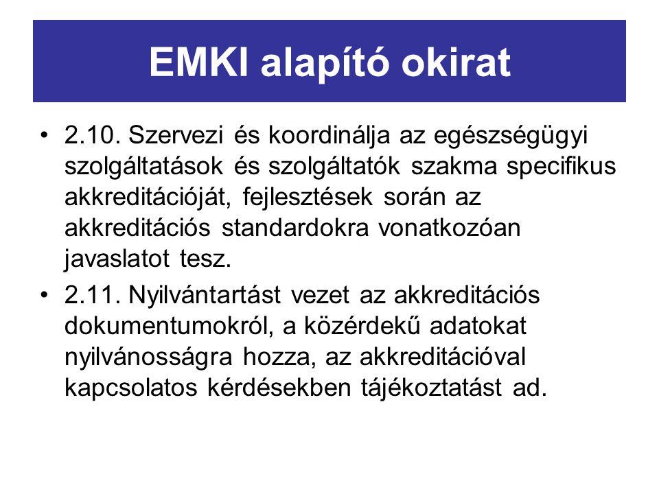 EMKI alapító okirat 2.10.