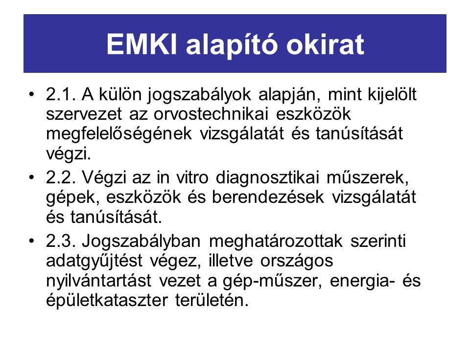 EMKI alapító okirat 2.1.