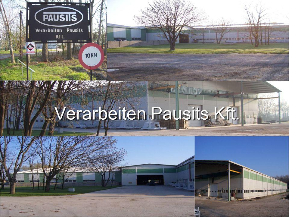 Cégtörténet A tulajdonos ügyvezető Pausits Imre úr, ő az egyedüli tulajdonos.