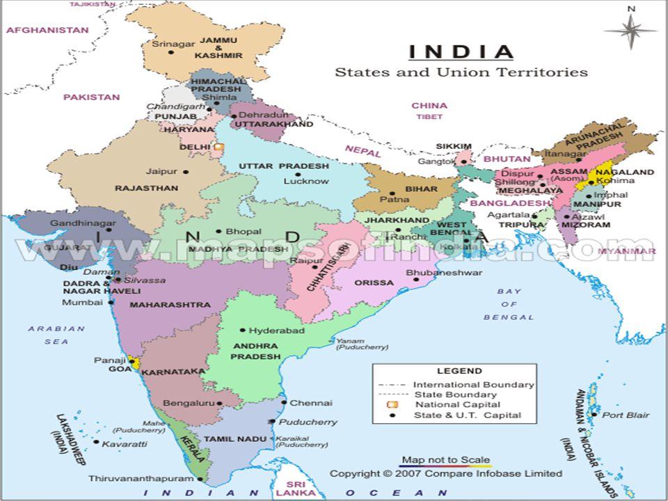 Rövid általános jellemzés Éghajlata- monszun Társadalomfelépítése- kasztrendszer Vallása: Hindu és Mohamedán Foglalkozás: földművelés, (lakosság 70%-a)
