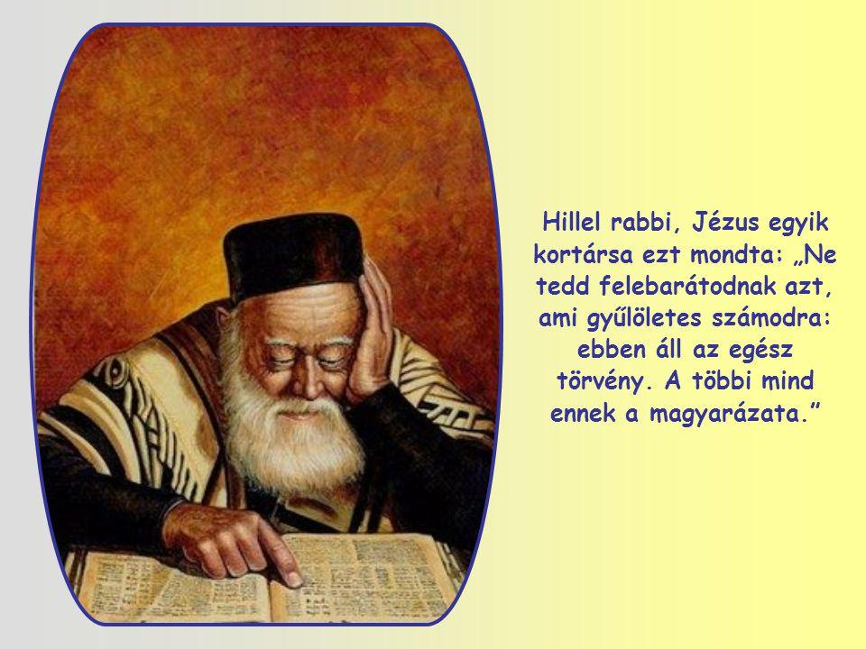 Ezt az igét már az Ószövetségben is megtaláljuk. Jézus egy kérdésre felel ezzel a mondattal. Válasza a próféták és Izrael tanítóinak hagyományaival te
