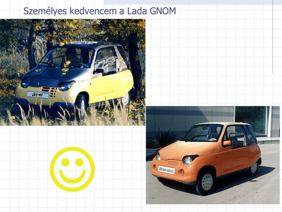 Személyes kedvencem a Lada GNOM