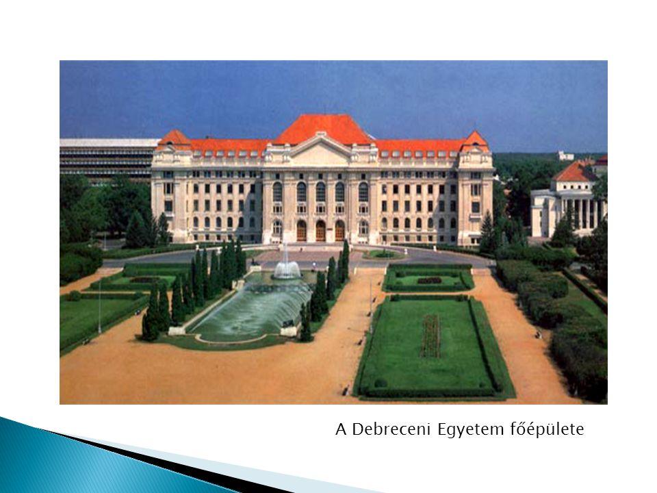 A Debreceni Egyetem főépülete