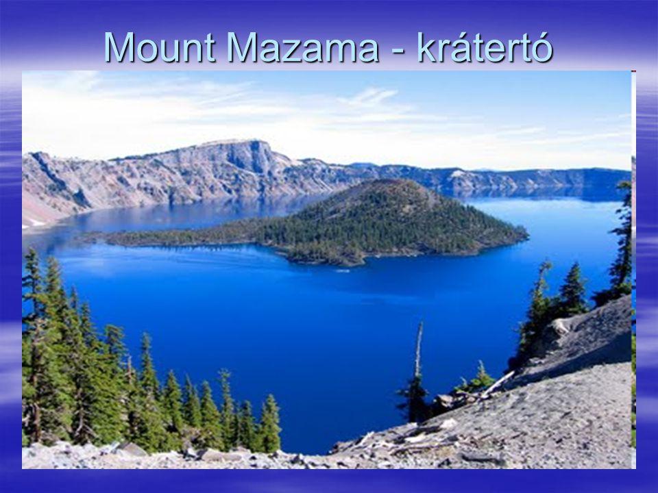 Mount Mazama - krátertó