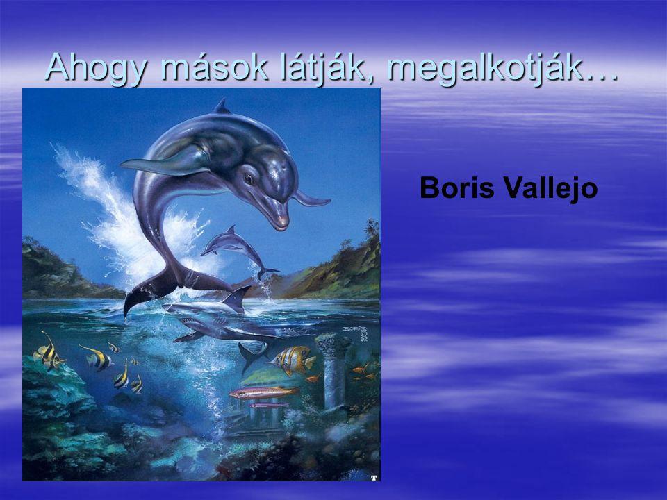 Ahogy mások látják, megalkotják… Boris Vallejo