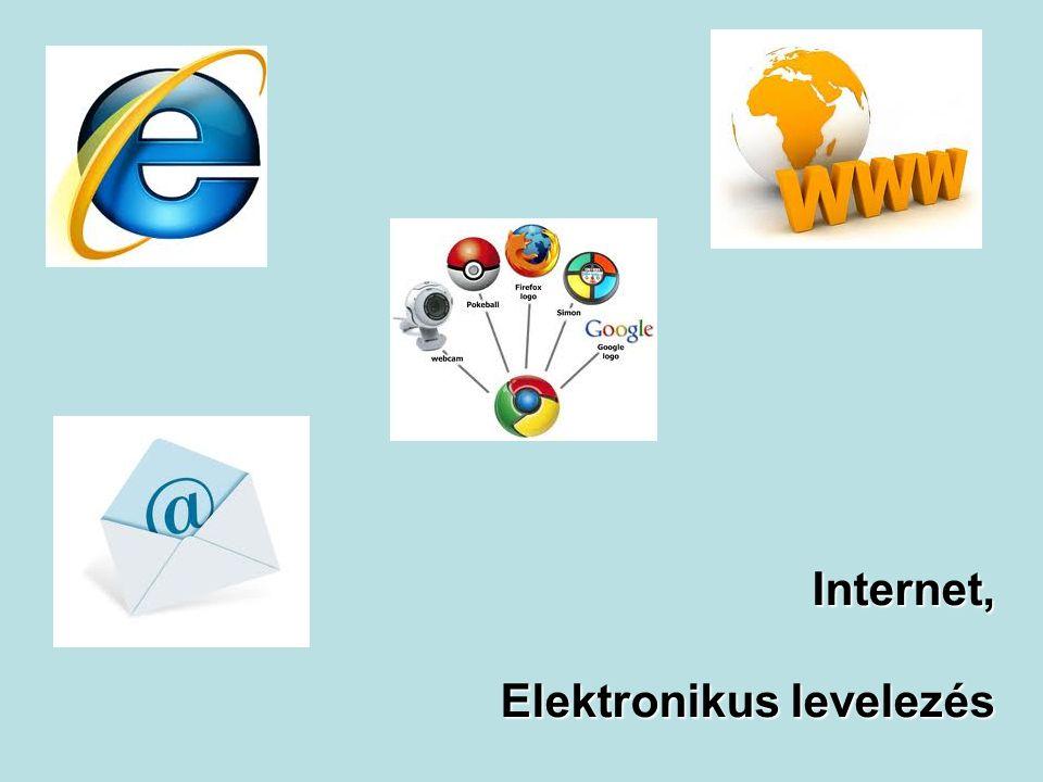 Internet, Elektronikus levelezés