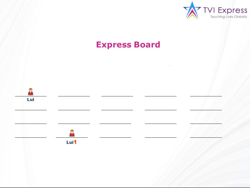 Lui Lui 1 Express Board