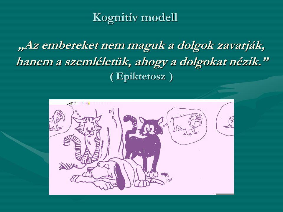 """""""Az embereket nem maguk a dolgok zavarják, hanem a szemléletük, ahogy a dolgokat nézik. ( Epiktetosz ) Kognitív modell"""
