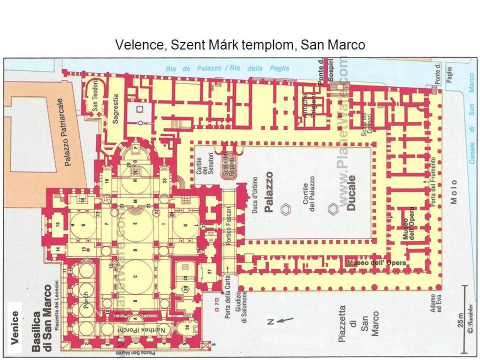 Velence, Szent Márk templom, San Marco