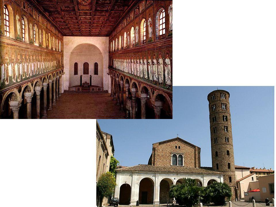 Hasonlítsa a korakeresztény bazilikához a Vitale templomot térszervezés szempontjából!