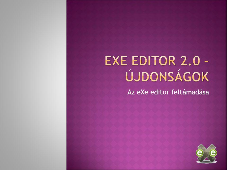 Az eXe editor feltámadása