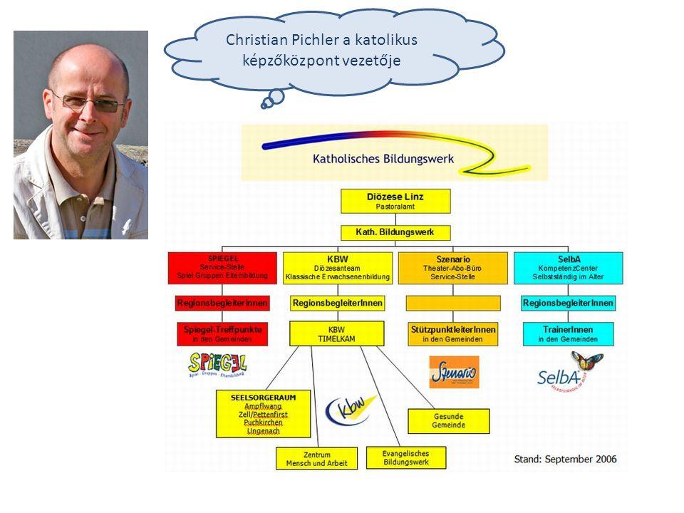 Christian Pichler a katolikus képzőközpont vezetője