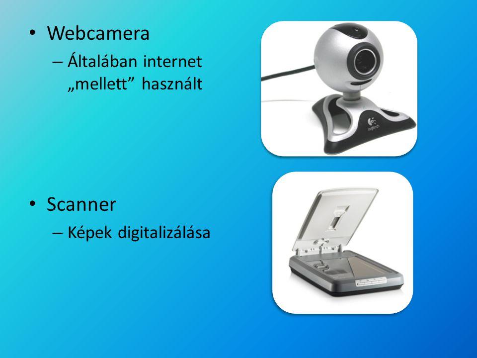 """Webcamera – Általában internet """"mellett"""" használt Scanner – Képek digitalizálása"""