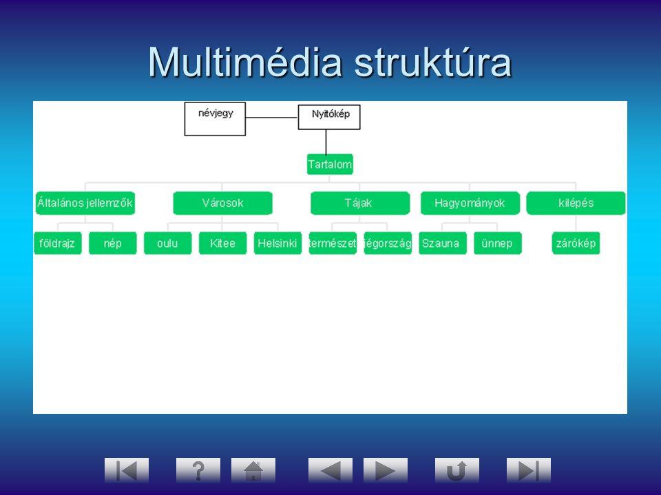Multimédia struktúra