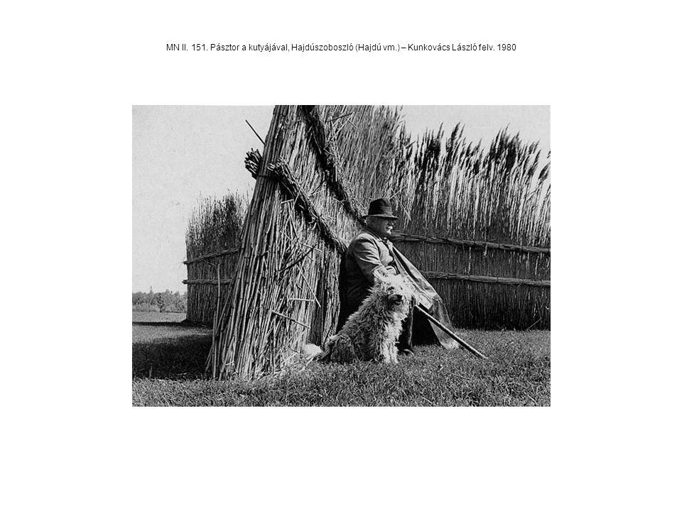 MN II. 151. Pásztor a kutyájával, Hajdúszoboszló (Hajdú vm.) – Kunkovács László felv. 1980