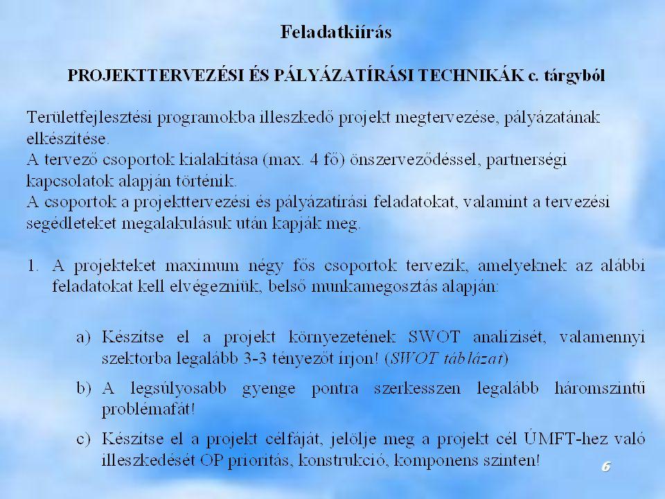 17 A Strukturális Alapok és Kohéziós Alap támogatási területei 2007-2013 között ERFA támogatási területei:  Regionális fejlődés  Gazdasági szerkezetváltások  Területi együttműködések ESZA támogatási területei:  Munkavállalók alkalmazkodó képességének javítása  Foglalkoztatás és munkaerőpiaci részvétel javítása  Partnerség a foglalkoztatás és integráció terén