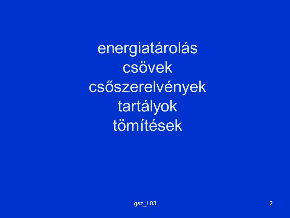 gsz_L032 energiatárolás csövek csőszerelvények tartályok tömítések