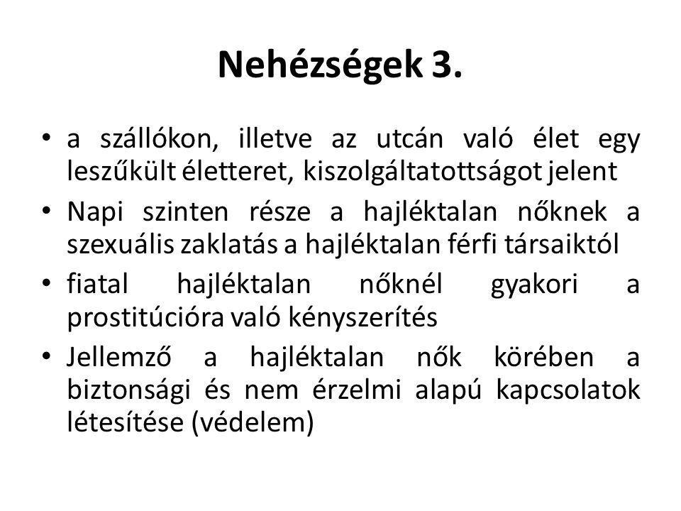 Hajléktalan nők Európában 6.