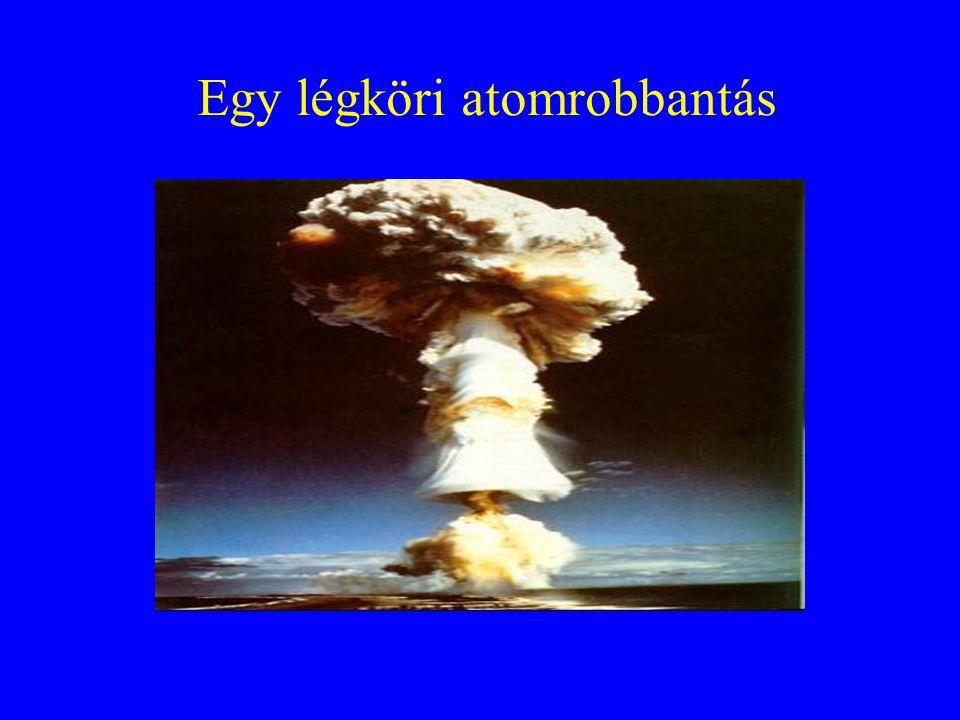 Egy légköri atomrobbantás