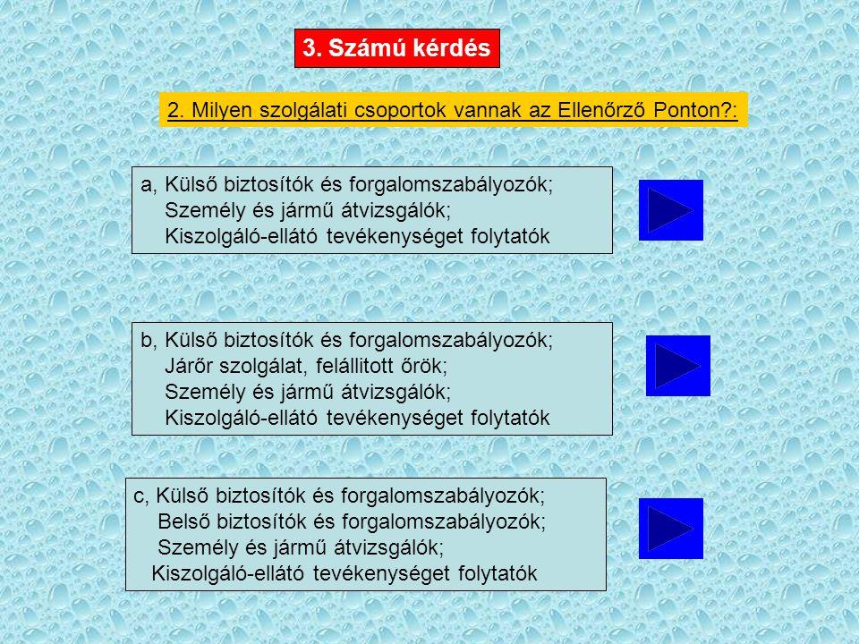 3. Számú kérdés 2.