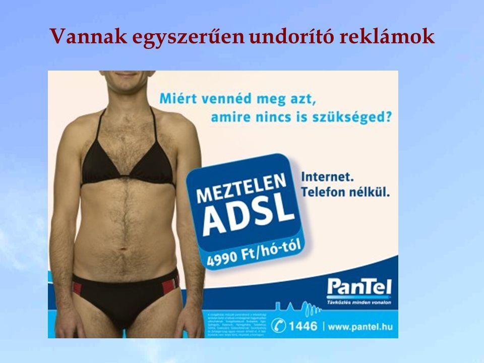 Vannak egyszerűen undorító reklámok