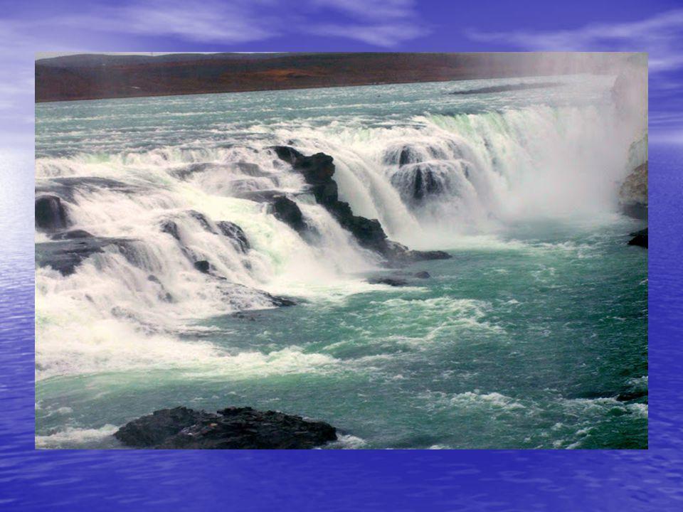 A Gullfoss(Arany) vízesés: A Gullfoss(Arany) vízesés: Izland a vízesések országa, és az óriási vízhozamú Gullfoss, a vízesések királynője. Izland a ví