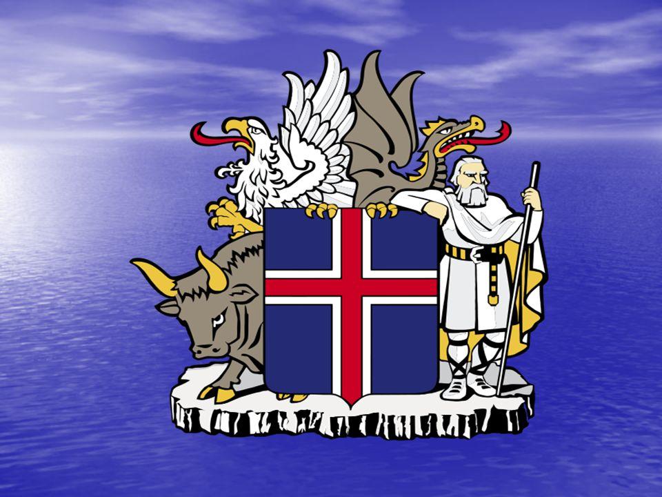 Az izlandi címer :