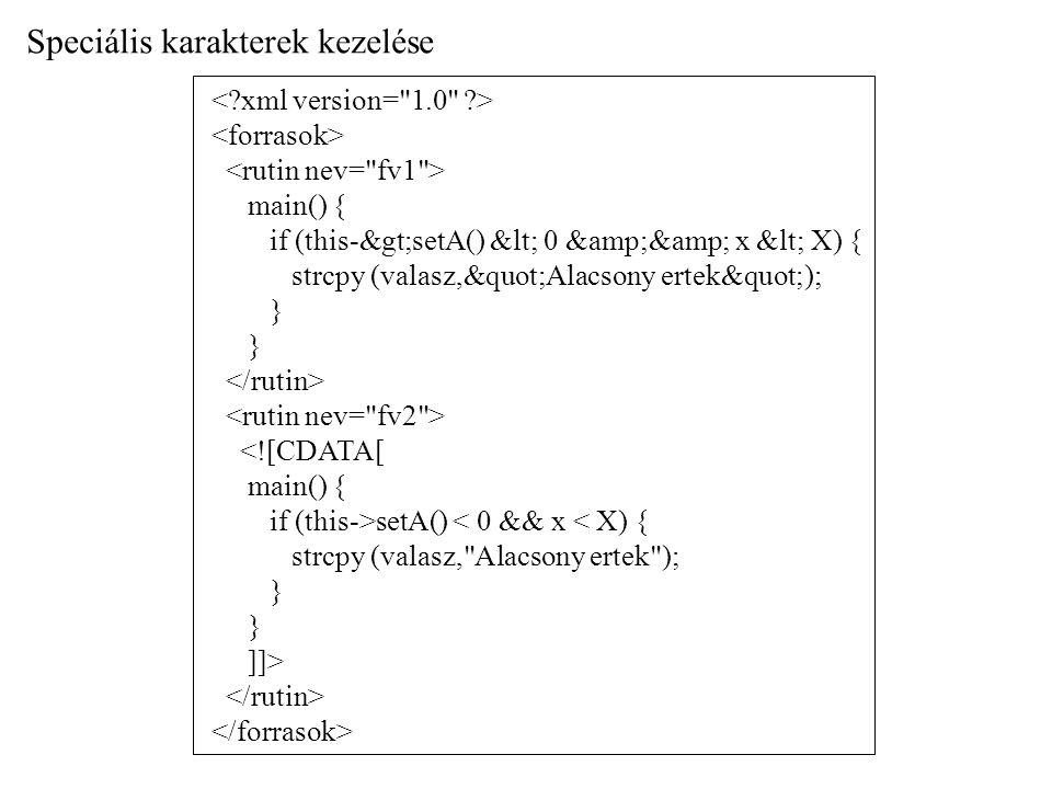 main() { if (this-&gt;setA() &lt; 0 &amp;&amp; x &lt; X) { strcpy (valasz,&quot;Alacsony ertek&quot;); } <![CDATA[ main() { if (this->setA() < 0 && x