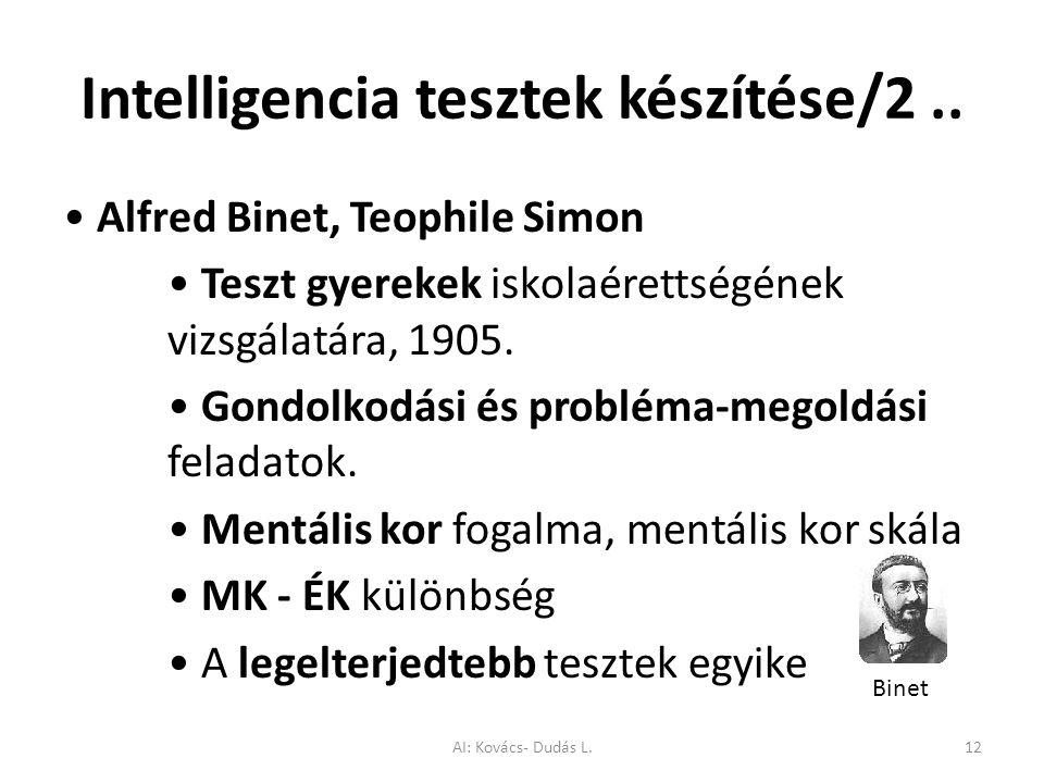 Intelligencia tesztek készítése/2.. Alfred Binet, Teophile Simon Teszt gyerekek iskolaérettségének vizsgálatára, 1905. Gondolkodási és probléma-megold