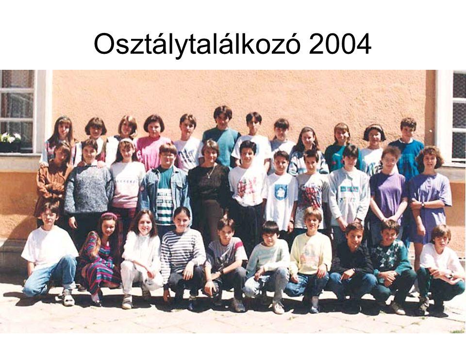 Osztálytalálkozó 2004