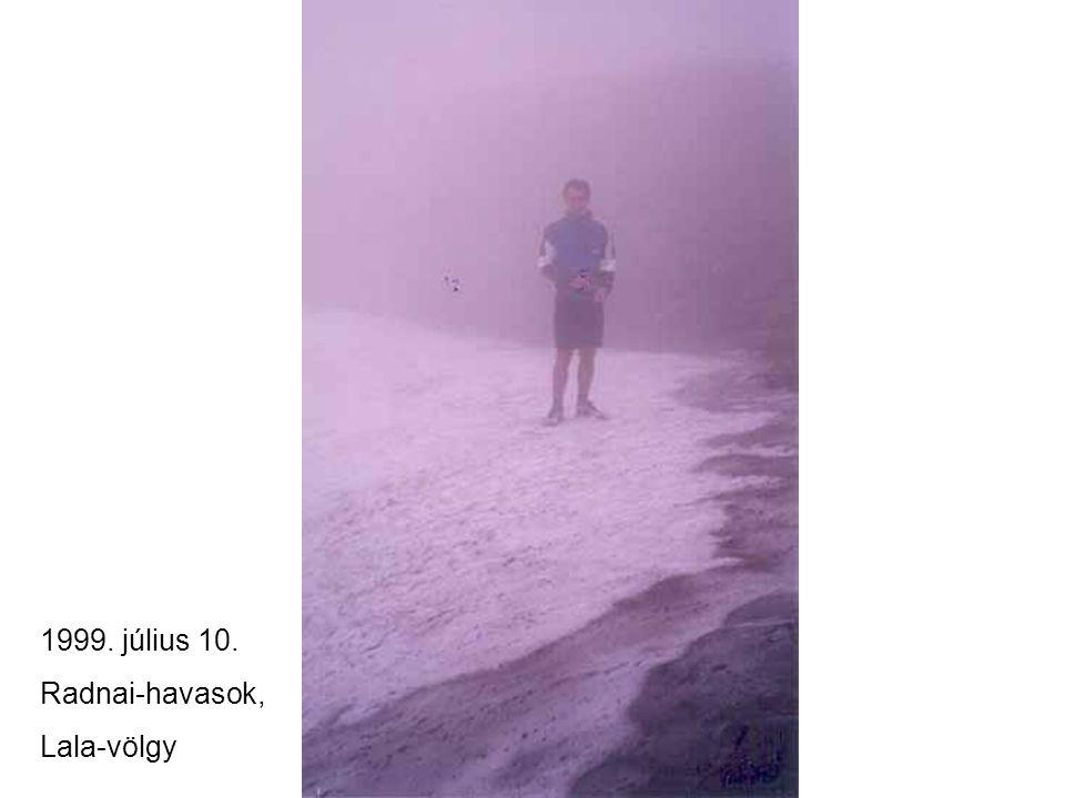 1999. július 10. Radnai-havasok, Lala-völgy