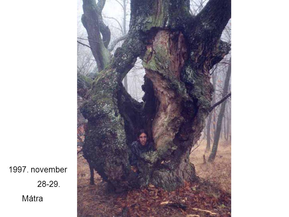 1997. november 28-29. Mátra