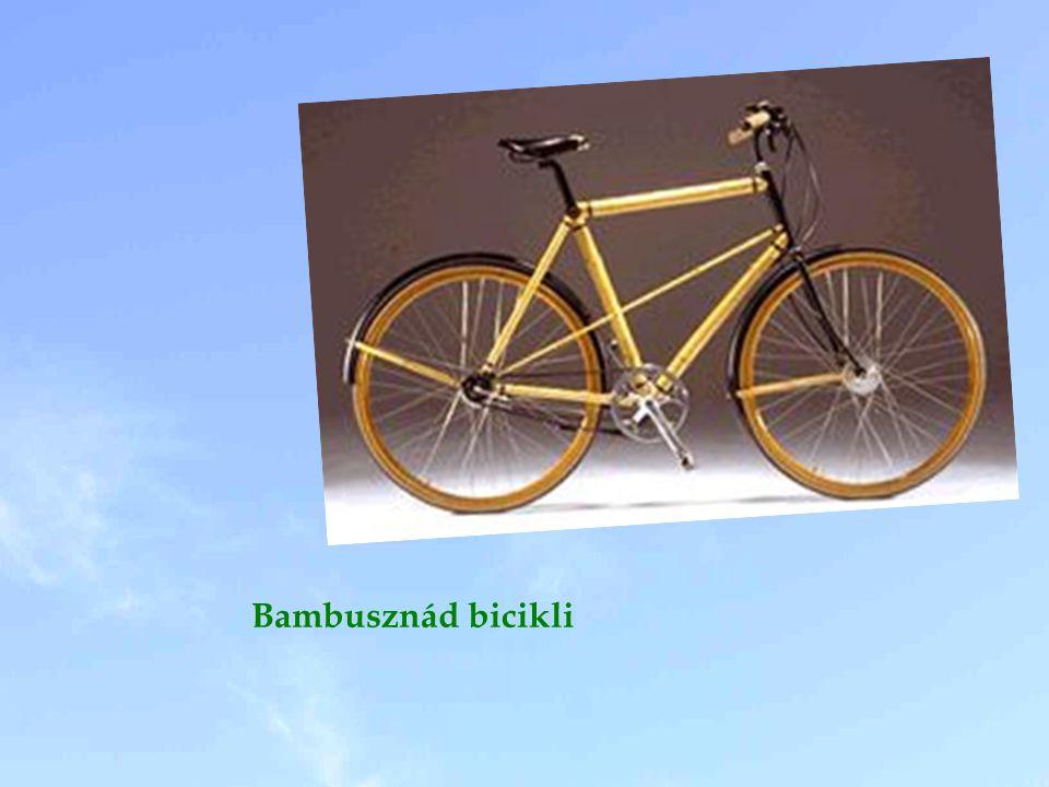 Bambusznád bicikli