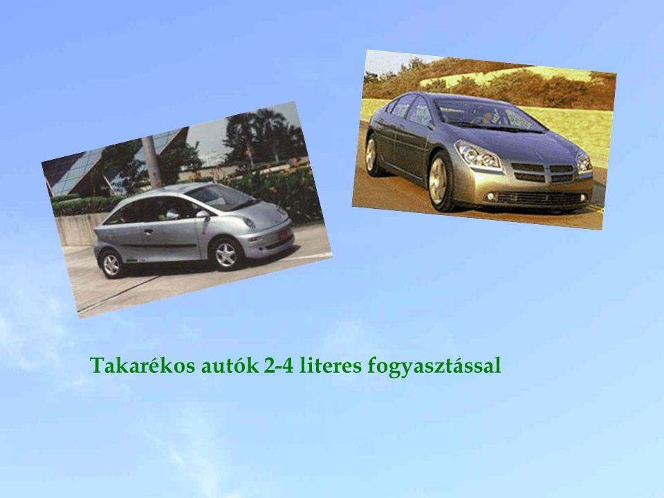Takarékos autók 2-4 literes fogyasztással
