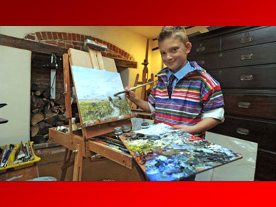Kieron édesapja egyébként szeptembertől fia galériájában szeretne dolgozni.