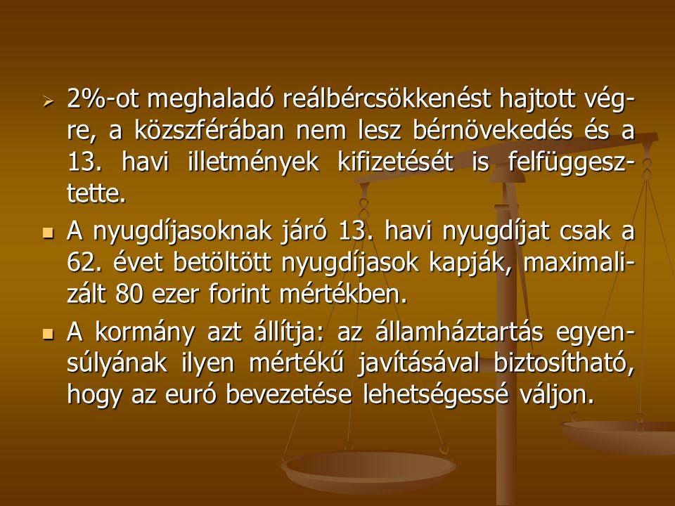 A 2008.évi CII. törvény a Magyar Köztársaság 2009.