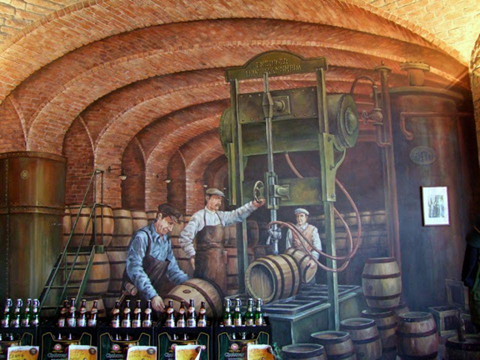 A helyi sörgyár meglátogatása során betekintést nyerhettünk a sörfőzés rejtelmeibe, láttuk, hogy a kész sör élőállítása, az alapanyagok kezelésén, a f