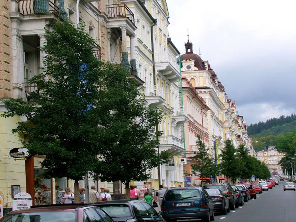 Marianske Lazné – Marienbad: Mariánske Lázné, vagy ismertebb nevén Marienbad a nyugat-csehországi híres fürdővárosok egyike. A német határtól néhány k