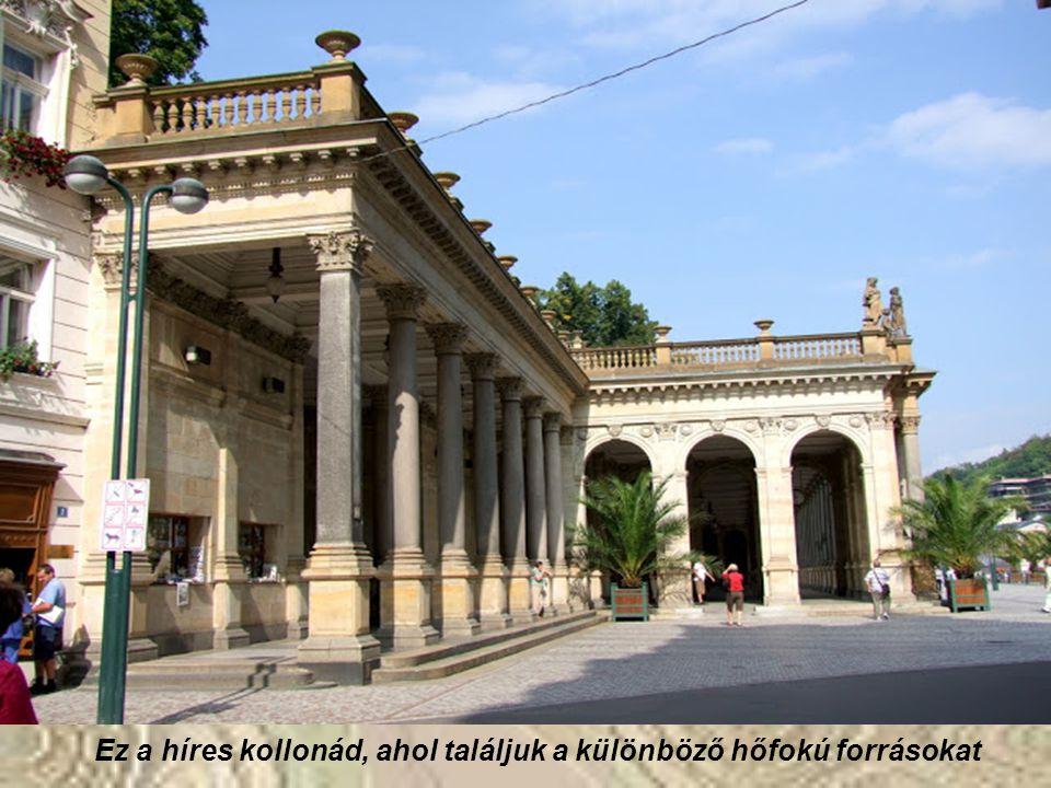Karlovy Vary-ban a környezet is a teljes kikapcsolódást szolgálja: az erdőkkel körülvett dimbes-dombos város területének közel felét borítják erdők, l