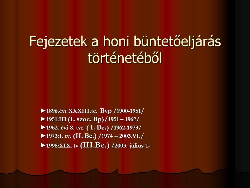 Fejezetek a honi büntetőeljárás történetéből ►1896.évi XXXIII.tc.