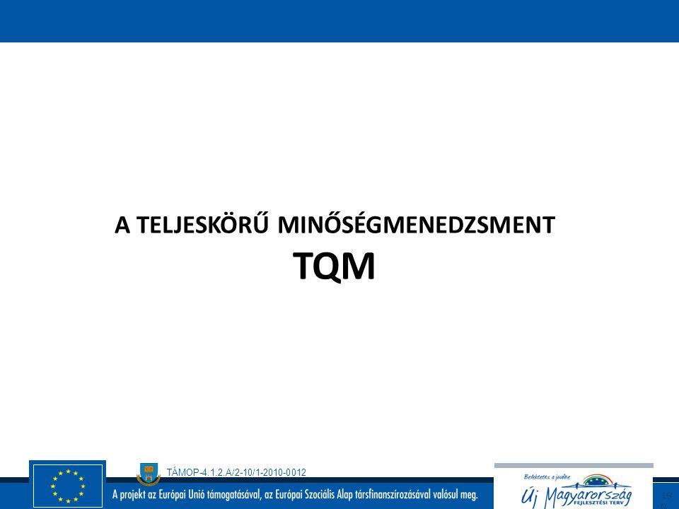 TÁMOP-4.1.2.A/2-10/1-2010-0012 18 9 Ellenőrző lista