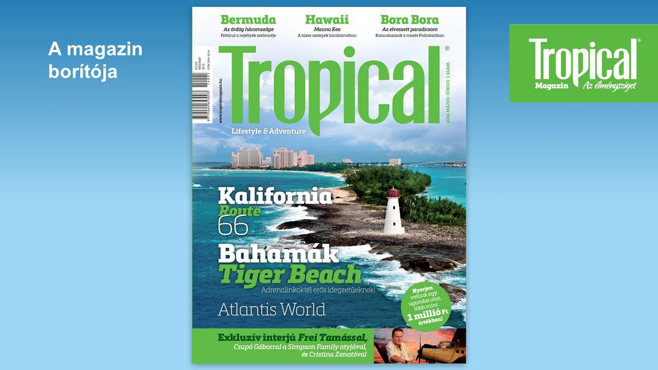 A magazin borítója
