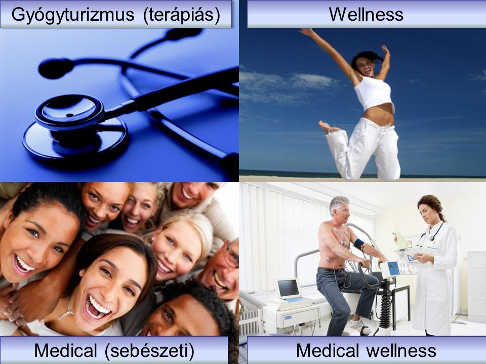 Gyógy Medical wellness Gyógyturizmus (terápiás) Wellness Medical wellness Medical (sebészeti)