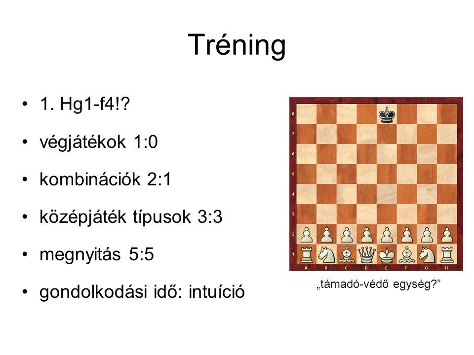 Tréning 1.Hg1-f4!.